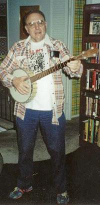 Wally and banjo!