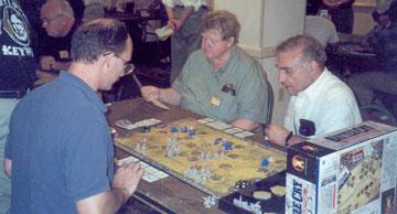 Wally at Historicon 2003.