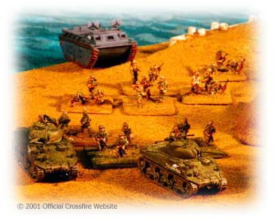 Pacific Island Assault using Crossfire.