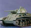 Soviet T-70 Light Tank.