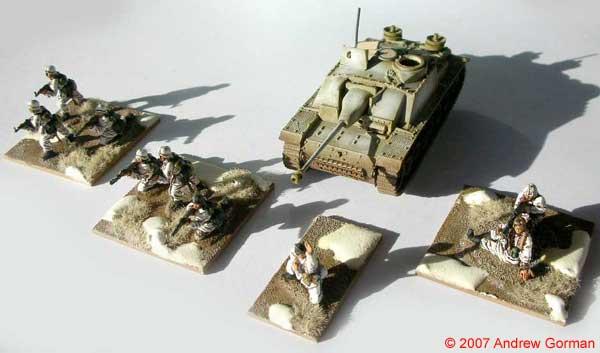 Infantry & (Airfix) StuG IIIG.